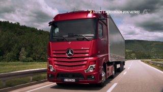 Soutěž s tahačem Mercedes-Benz Actros
