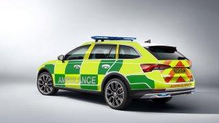 škoda ambulance