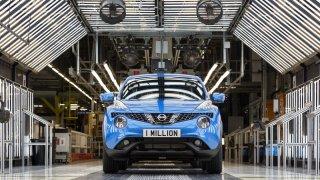 Nissan v Sunderlandu vyrobil miliontý Juke