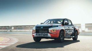 Závodní speciál Mitsubishi pro australský seriál SuperUte 2019