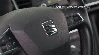 Autobazar: Seat Leon ST vs. Opel Astra ST