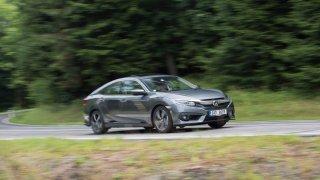 Nová Honda Civic s motorem 1.5 VTEC jezdí skvěle.