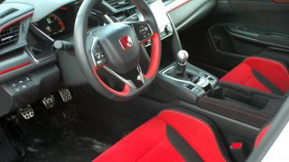 Honda Civic Type R interier 1