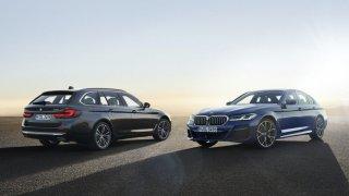 Ostřejší sestřih i rozsáhlá elektrifikace: BMW řady 5 a 6 se představila v modernizovaném provedení