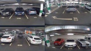 Našli jste své auto v podzemní garáži nabourané? Někde už umí díky kamerám dohledat viníka