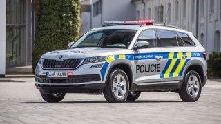 Policie začíná jezdit vozy Škoda Kodiaq. Dostala je za ceny, které by byly pro běžné smrtelníky snem