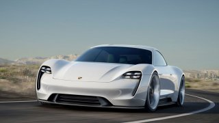 Porsche Mission e-concept car