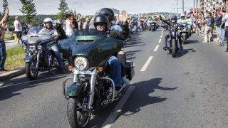 Harley-Davidson oslavy 115 let v Praze
