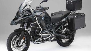 Černá elegance pro BMW R 1200 GS a R 1200 GS Adventure
