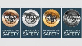 Euro NCAP štítky pro dodávky