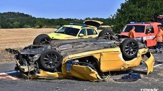 nehoda u Kladna