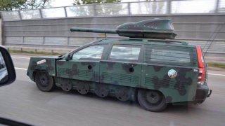 Volvo, to je tank. V tomto případě to platí doslova