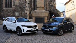 Je lepší diesel, nebo hybrid? Srovnávací test dvou verzí nové Kie Sorento skončil překvapením