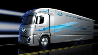 Hyundai a H2 Energy uvedou do provozu nákladní vozidla s palivovými články