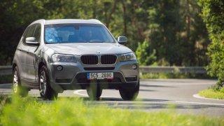 BMW X3 xDrive20d je nečekaně svižný společník.