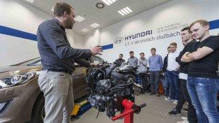 Hyundai přispívá ke zvýšení atraktivity praktické výuky