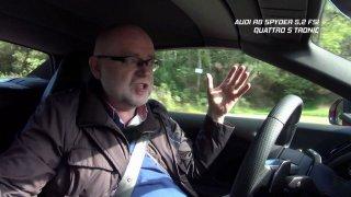 Recenze supersportu Audi R8 Spyder. 5,2 FSI Quattro