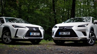 Vyplatí se modernější Lexus UX, nebo prostornější NX? Dvě luxusní SUV se prodávají za podobné ceny