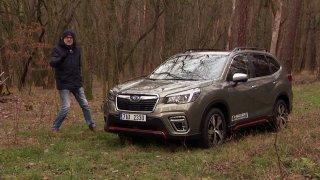 Recenze nové generace Subaru Forester e-Boxer Executive