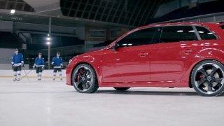 Audi RS3 je na ledě jako doma - Obrázek 4