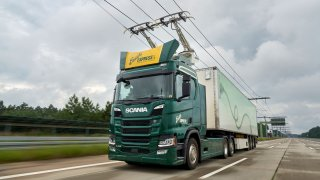 Scania dodá nákladní vozy pro německé elektrifikované dálnice