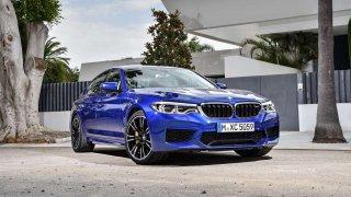 Na Zlatém volantu bude k vidění nové BMW M5