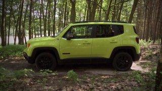 Test malého SUV Jeep Renegade
