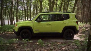 Test malého SUV Jeep Renegade