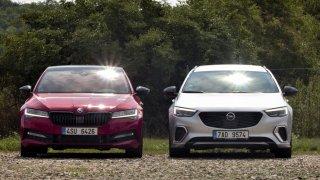 Srovnání dvou odlišných sportovců: Škoda Superb SportLine vs. Opel Insignia GSi