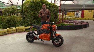 Recenze elektrického motocyklu Dongma M6