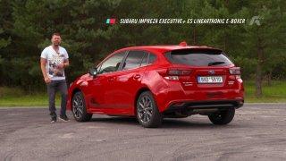 Recenze Subaru Impreza Executive+ ES Lineartronic E-Boxer