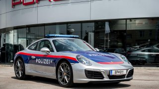 Porsche 911 991 ve službách rakouské policie