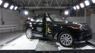 Range Rover Velar Euro NCAP 1