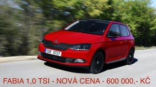 Škoda Fabia 1.0 TSI Turecko