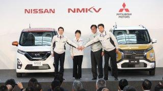 Mitsubishi - Nissan minivozy