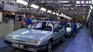 Citroën - továrna Rennes – La Janais