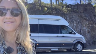 Tereza testuje Volkswagen Grand California