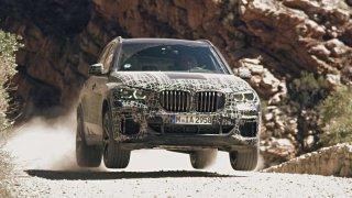 BMW X5 prochází tvrdými zkouškami