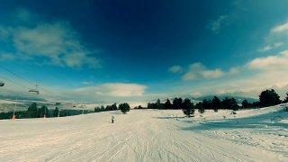 Schválně si je spočítejte - 15 lyžařů na 5 kilometrech sjezdovky. Takhle se lyžuje v Sarikamiši