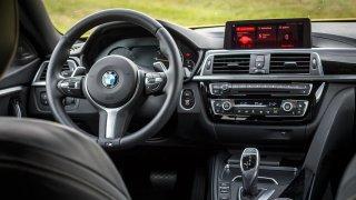 BMW i440 GrandCoupé xDrive interiér 1