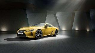 Kupé Lexus LC má novou edici Yellow