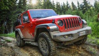 Jeep Wrangler dynamické 1