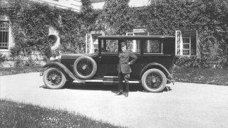 Škoda Hispano-Suiza jela už před 90 lety až 140 km/h a vozil se v ní první československý prezident