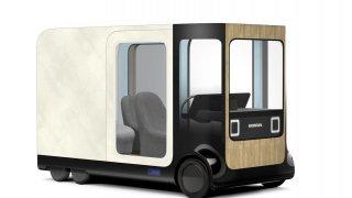 Pojízdné krabice, jezdící křesla. Budoucnost podle Hondy