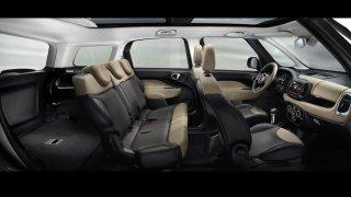 Fiat 500L interiér