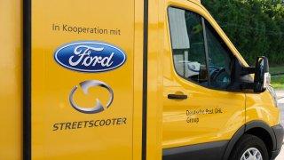 Ford vyrábí elektrickou dodávku Deutsche Post StreetScooter WORK XL