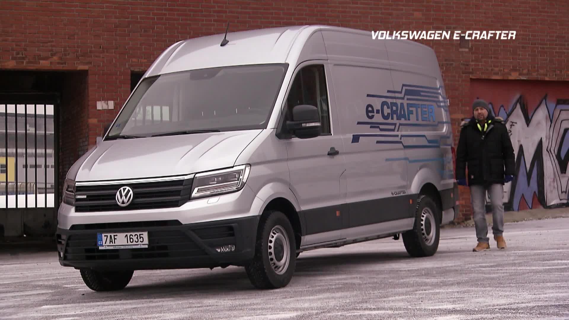 Test elektrododávky Volkswagen e-Crafter