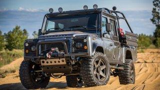 Land Rover Defender dotažený do posledního detailu