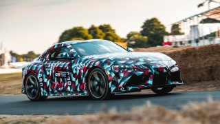 Prototyp Toyota Supra se chystá na Goodwood Festival of Speed