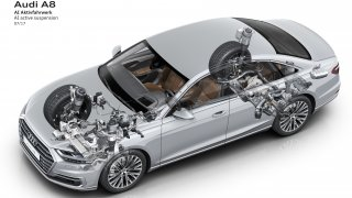 Audi A8 technika 2